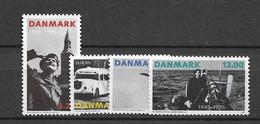 1995 MNH Danmark, Michel 1100-3 Postfris** - Danimarca