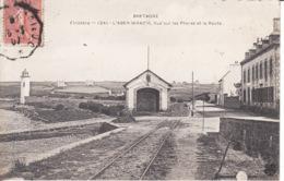 29 Landéda, Aber Wrac'h, Station Sauvetage, Route, Phares, 1907,  2 Scans - France