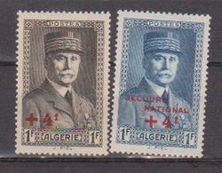 ALGERIE         N°  YVERT  :   169/170         NEUF AVEC  CHARNIERES      ( Ch 1/18  ) - Algérie (1924-1962)