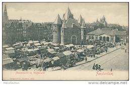 PAYS-BAS - AMSTERDAM - Nieuwmarkt En Vischmarkt - Ed. Stengel & Co - SUP - Amsterdam