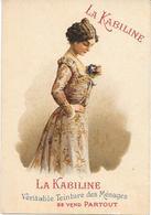 Carte Calendrier 1905  TEINTURE KABILINE - Calendars