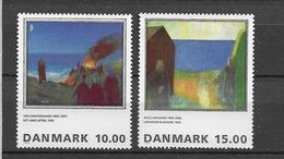 1995 MNH Danmark, Michel 1108-9 Postfris** - Danimarca