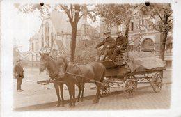 Transport Pferdefuhrwerk - Métiers
