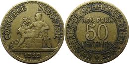 France - Troisième République - 50 Centimes 1929 Chambres De Commerce - France