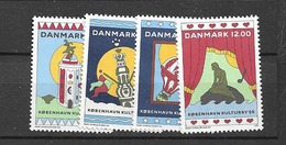 1996 MNH Danmark, Michel 1116-19 Postfris** - Dänemark