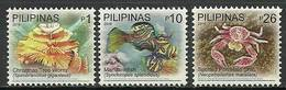 Philippines 2010 Mi 4346+4354+4358 MNH ( LZS8 PLP4346+4354+4358dav38A ) - Fishes