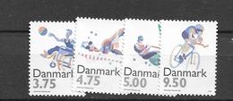 1996 MNH Danmark, Michel 1120-3 Postfris** - Danimarca