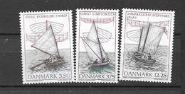 1996 MNH Danmark, Michel 1127-29 Postfris** - Danimarca