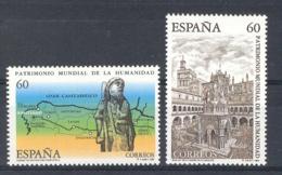 Spain 1995 - Patrimonio De La Humanidad Ed 3390-91 (**) Mi 3243-3244 - 1931-Heute: 2. Rep. - ... Juan Carlos I