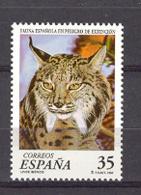 Spain 1998 - Fauna En Peligro - Lince Ed 3529 (**) Mi 3368 - 1931-Heute: 2. Rep. - ... Juan Carlos I
