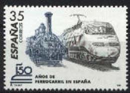 Spain 1998 - 150 An. Tren Ed 3591 (**) Mi 3427 - 1931-Heute: 2. Rep. - ... Juan Carlos I