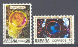 Spain 1990 - Navidad Ed 3084-85 (**) Mi 2961-2962 - 1931-Heute: 2. Rep. - ... Juan Carlos I