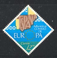 Spain. 1978.Consejo Europa Ed 2476 (**) Mi 2368 - 1931-Heute: 2. Rep. - ... Juan Carlos I