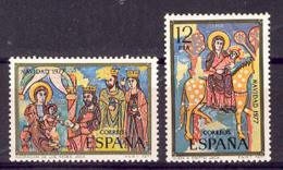 Spain 1977 - Navidad Ed 2446-47 (**) Mi 2335-2337 - 1931-Heute: 2. Rep. - ... Juan Carlos I