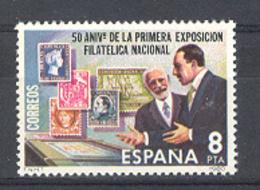 Espagne 1980. Exfilna Ed 2576 Yv 2222 (**) - 1931-Aujourd'hui: II. République - ....Juan Carlos I