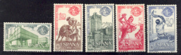 Spain 1964. Feria New York Ed 1590-94 (**) Mi 1471-1475 - 1931-Heute: 2. Rep. - ... Juan Carlos I