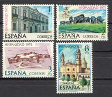 Spain 1975 - Hispanidad - Uruguay Ed 2293-96 (**) Mi 2186-2189 - 1931-Heute: 2. Rep. - ... Juan Carlos I
