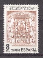 Espagne 1980. Vierge De Les Nieges Ed 2577 Yv 2223 (**) - 1931-Aujourd'hui: II. République - ....Juan Carlos I