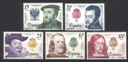 Spain 1979. Casa De Austrias Ed 2552-56 (**) Mi 2444-2448 - 1931-Heute: 2. Rep. - ... Juan Carlos I