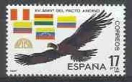 Spain 1985 - Pacto Andino Ed 2778 (**) Mi 2636 - 1931-Heute: 2. Rep. - ... Juan Carlos I