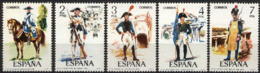 Spain 1975 - Uniformes G5 Ed 2277-81 (**) Mi 2169-2173 - 1931-Heute: 2. Rep. - ... Juan Carlos I