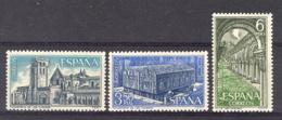 Spain 1969 - M. De Las Huelgas Ed 1946-48 (**) Mi 1840-1842 - 1931-Heute: 2. Rep. - ... Juan Carlos I