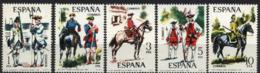 Spain 1975. Uniformes 4 G Ed 2236-40 (**) Mi 2130-2134 - 1931-Heute: 2. Rep. - ... Juan Carlos I