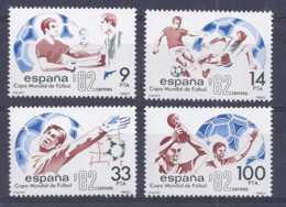 Espagne 1982. Coupe Du Football  Ed 2661-63 Yv 2288-89 4v (**) - 1931-Aujourd'hui: II. République - ....Juan Carlos I