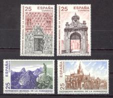 Spain 1991 - Patrimonio De La Humanidad Ed 3146-49 (**) Mi 3019-3022 - 1931-Heute: 2. Rep. - ... Juan Carlos I