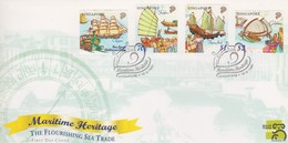 Singapore 1999 Maritime Heritage FDC - Singapore (1959-...)