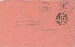 1943 POSTA MILITARE/N. 1 SEZ. A C2 (16.2) Su Busta Di Servizio - 1900-44 Vittorio Emanuele III