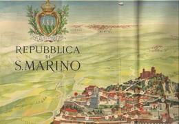 SAINT-MARIN - ANCIENNE CARTE TOPOGRAPPHIQUE - Cartes Topographiques