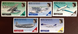 Antigua 1970 Air Services Aviation Aircraft MNH - Antigua And Barbuda (1981-...)