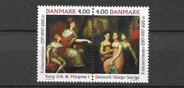 1997 MNH Danmark, Michel 1153-4 Postfris** - Danimarca
