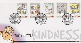 Singapore 1999 Try A Little FDC - Singapore (1959-...)