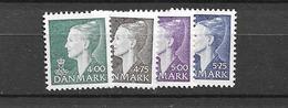 1997 MNH Danmark, Michel 1158-61 Postfris** - Danimarca