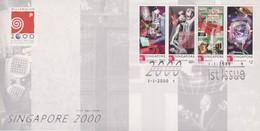Singapore 2000 Singapore 2000 FDC - Singapore (1959-...)