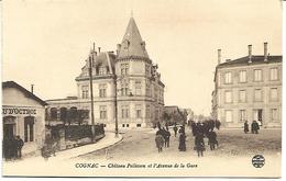 Cognac:Chateau Pellisson Et L'Avenue De La Gare - Cognac