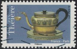 France 2018 Oblitéré Used Théière De France Paris - France