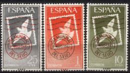 Spain 1961. Dia Del Sello Ed 1348-50 (**) Mi 1243-1245 - 1931-Heute: 2. Rep. - ... Juan Carlos I
