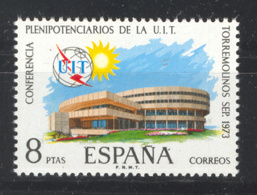 Spain 1973 - Conferencia UIT Ed 2145 (**) Mi 2040 - 1931-Heute: 2. Rep. - ... Juan Carlos I