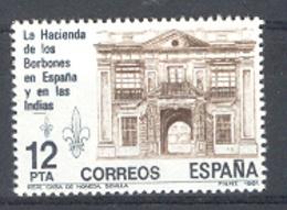 Espagne 1981. Adm. Bourbons Ed 2642-34 Yv 2270 (**) - 1931-Aujourd'hui: II. République - ....Juan Carlos I