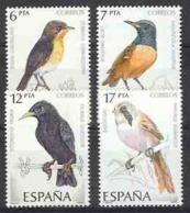Spain 1985 - Pajaros Ed 2820-23 (**) Mi 2704-2707 - 1931-Heute: 2. Rep. - ... Juan Carlos I
