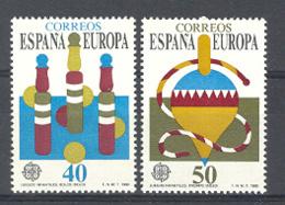 Spain. 1989 Europa - Juegos Ed 3008-09 (**) Mi 2885-2886 - 1931-Heute: 2. Rep. - ... Juan Carlos I