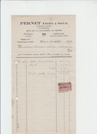 MONS - FLEURISTE - HORTICULTURE - PERNET - MONS - 1926 - Petits Métiers