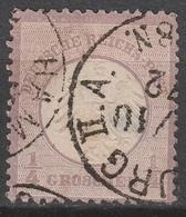 Deutsches Reich    .    Michel    .     1         .       O        .      Gebraucht - Gebraucht
