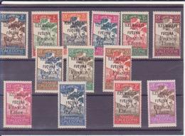 Wallis Et Futuna- Taxe-surchargées France Libre - Postage Due