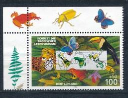 BRD Mi. 1867 Eckrand Gest. Umweltschutz Tropische Lebensräume Rundstempel - BRD