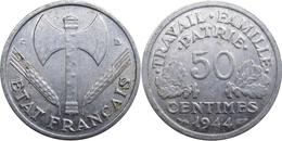 France - État Français - 50 Centimes 1944 C Francisque - G. 50 Centimes