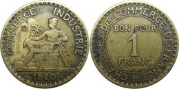 France - Troisième République - 1 Franc 1920 Chambres De Commerce - France